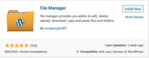 Easy media upload in Wordpress 2