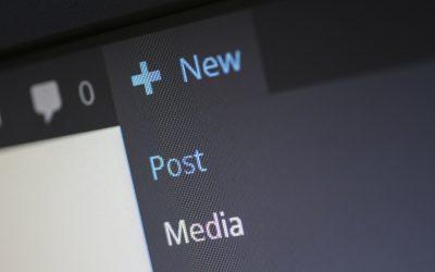 Easy media upload in WordPress